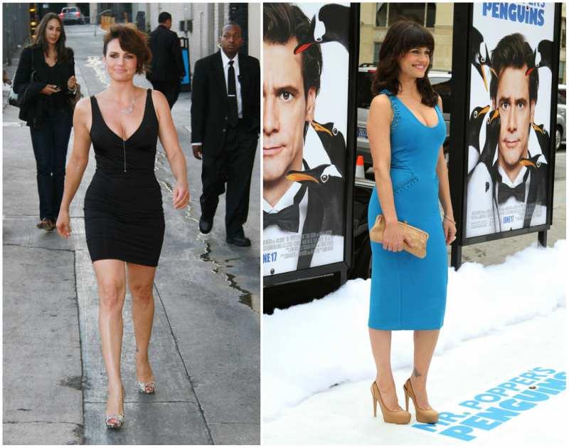Carla Gugino's height, weight and body measurements