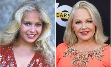 Charlene Tilton's eyes and hair color