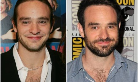 Charlie Cox's eyes and hair color