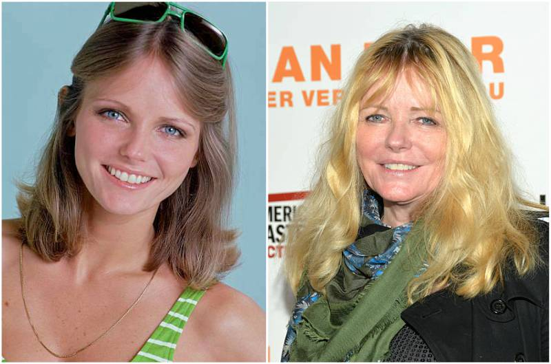 Cheryl Tiegs' eyes and hair color