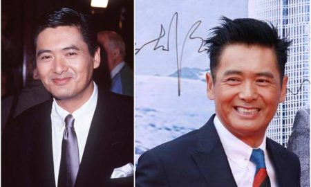 Chow Yun-Fat's eyes and hair color