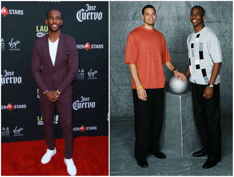 Chris Paul's height, weight and body measurements