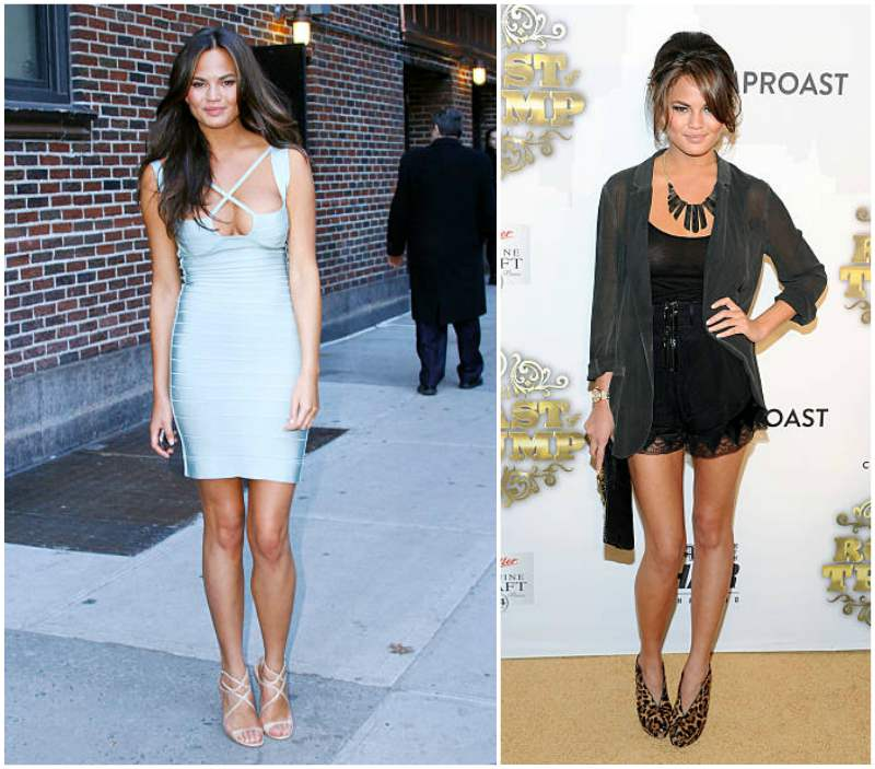 Chrissy Teigen's height, weight and body measurements