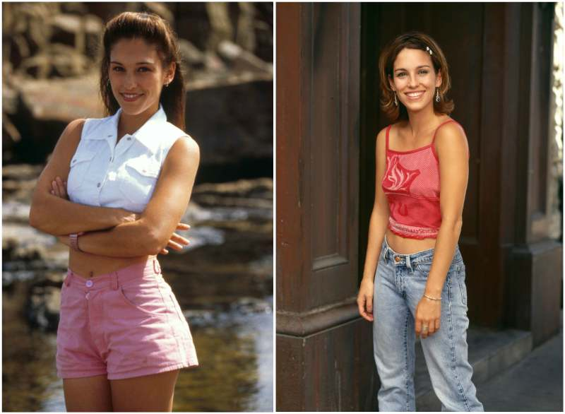 Amy Jo Johnson's height, weight and body measurements