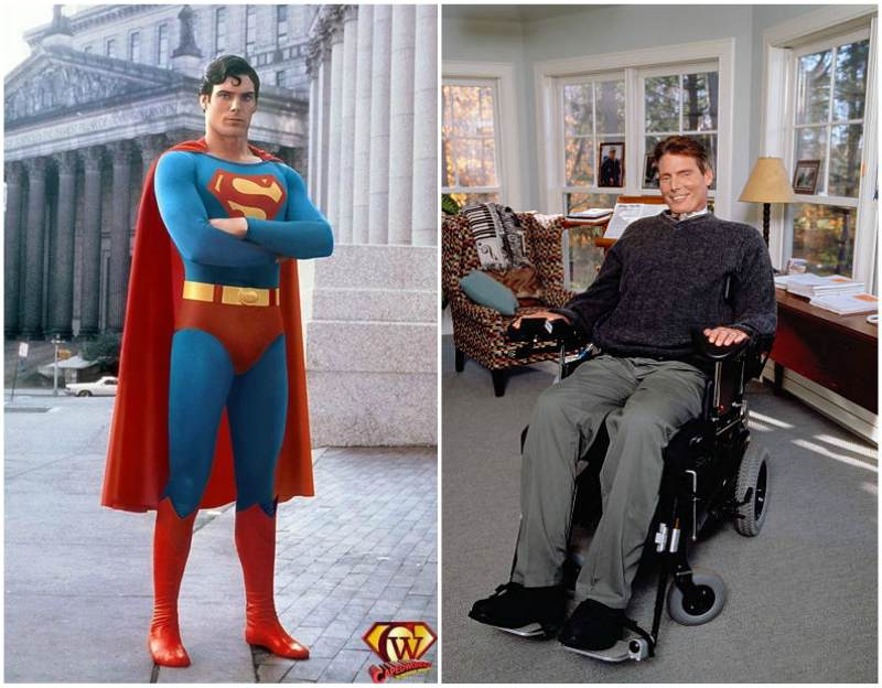 Christopher Reeve's height, weight and age