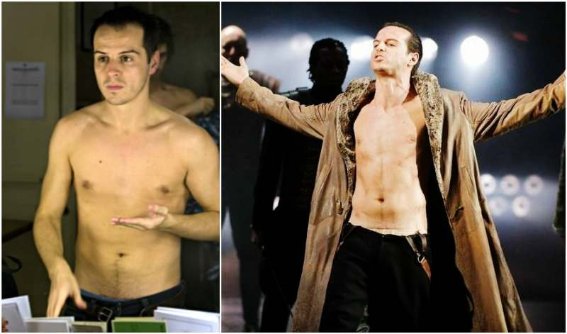 Andrew Scott's height, weight and body measurements