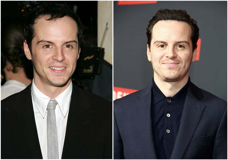 Andrew Scott's eyes and hair color