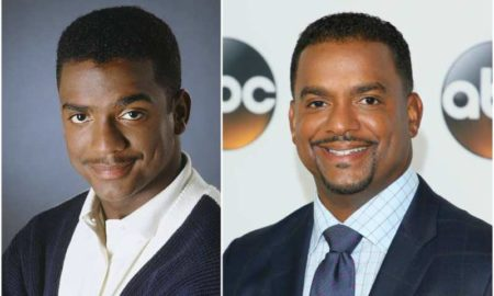 Alfonso Ribeiro's eyes and hair color