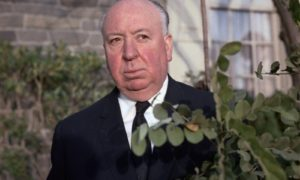 Alfred Hitchcock's eyes and hair color