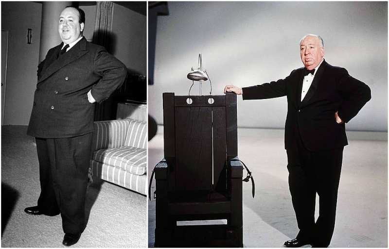 Alfred Hitchcock's height, weight and age