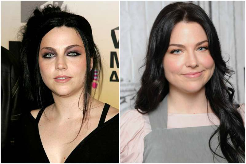 Amy Lee's eyes and hair color