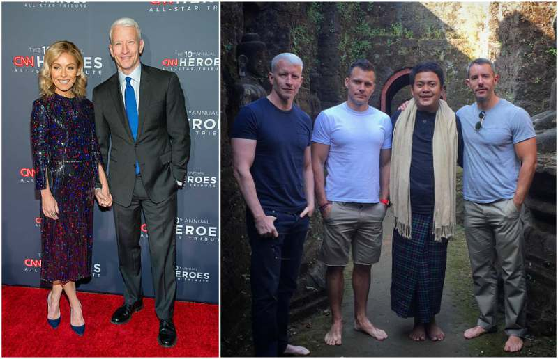 Anderson Cooper's height, weight and body measurements