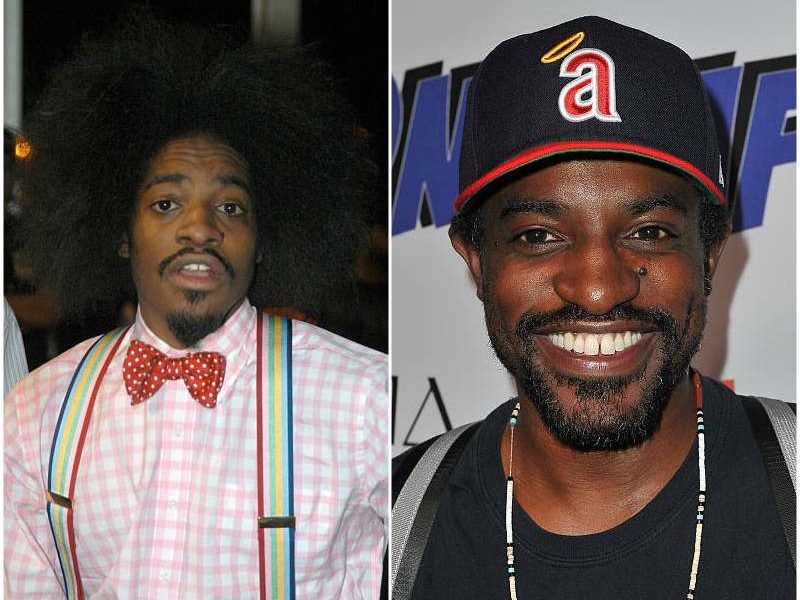 Andre 3000's height, weight. He has changed his style
