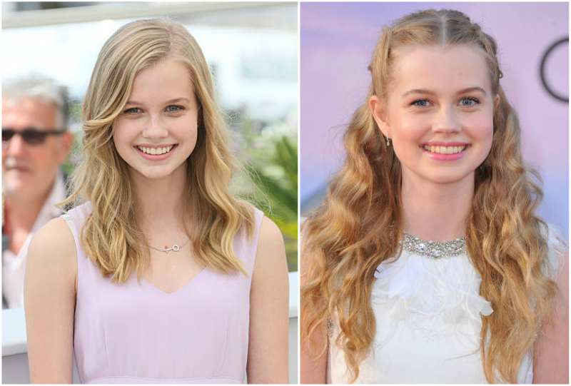 Angourie Rice's eyes and hair color