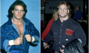 Chris Benoit's eyes and hair color
