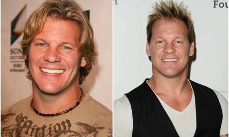 Chris Jericho's eyes and hair color