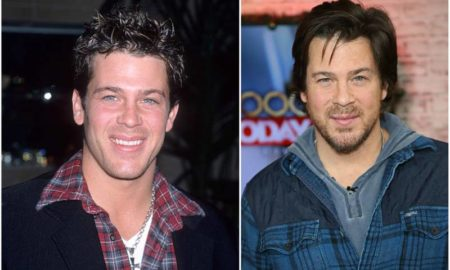 Christian Kane's eyes and hair color