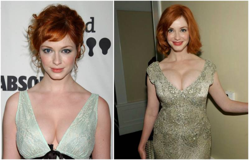 Christina Hendricks' height, weight and body measurements