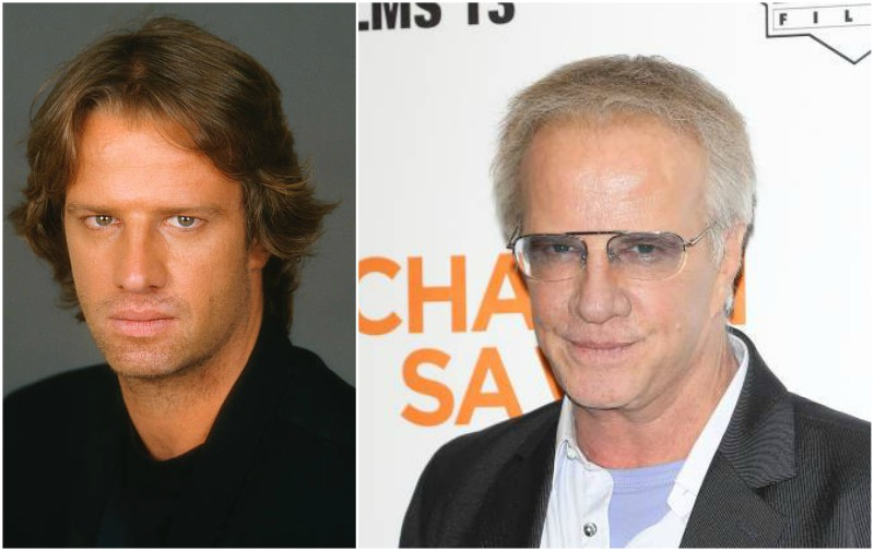 Christopher Lambert's eyes and hair color