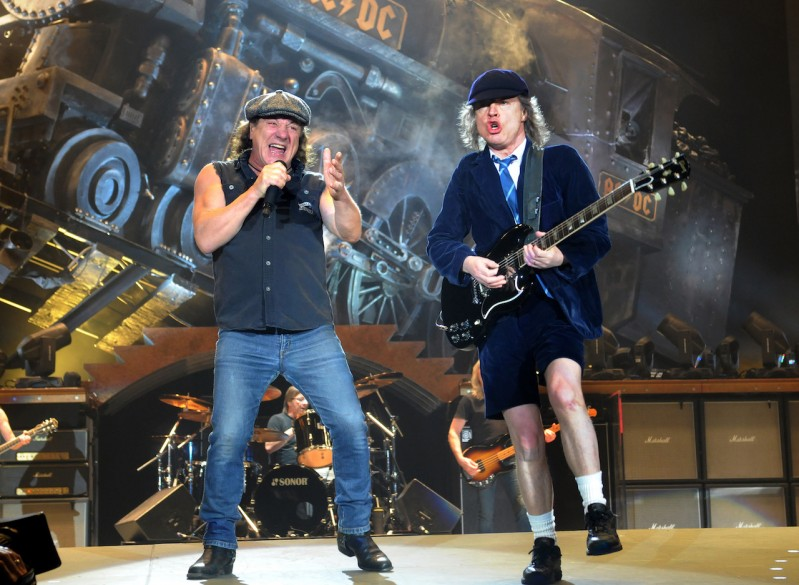 Angus Young's height, weight and age