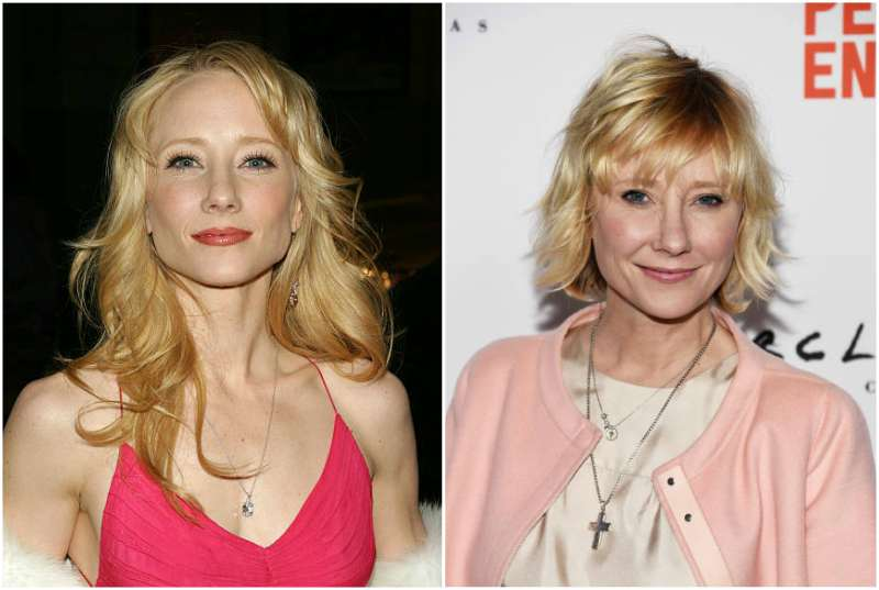 Anne Heche's eyes and hair color