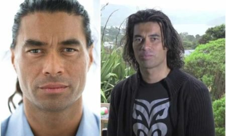 Antonio Te Maioha's eyes and hair color