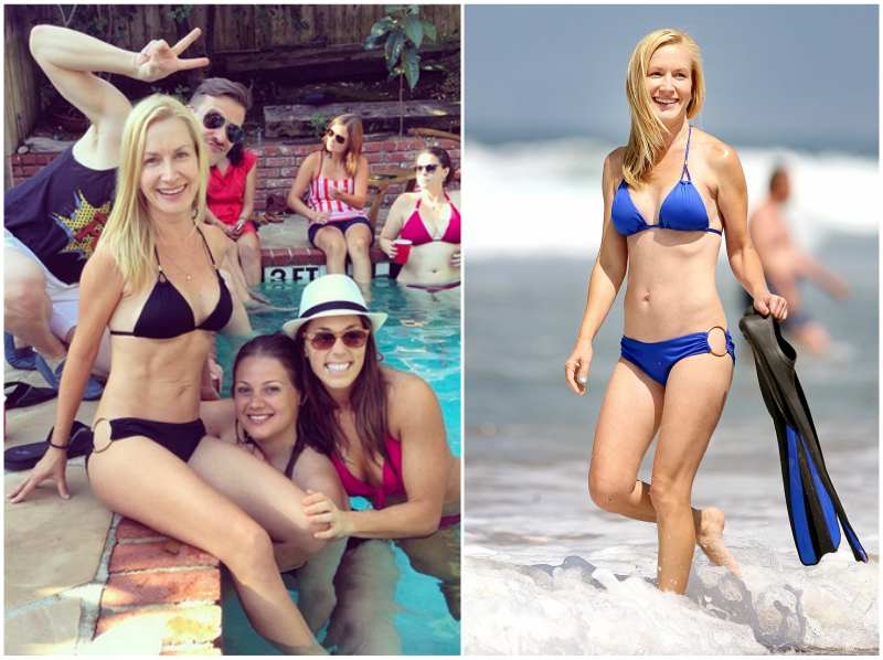 Angela Kinsey's height, weight and body measurements