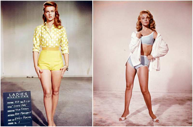 Ann-Margret's height, weight and body measurements