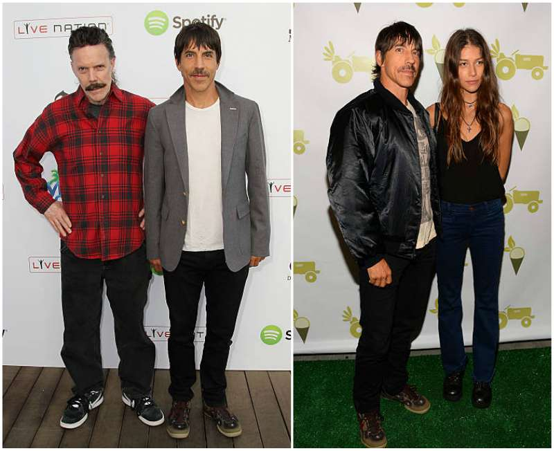 How tall is anthony kiedis
