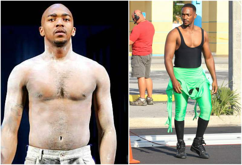 Anthony Mackie's height, weight and body measurements