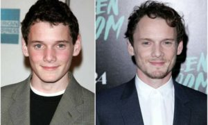 Anton Yelchin's eyes and hair color