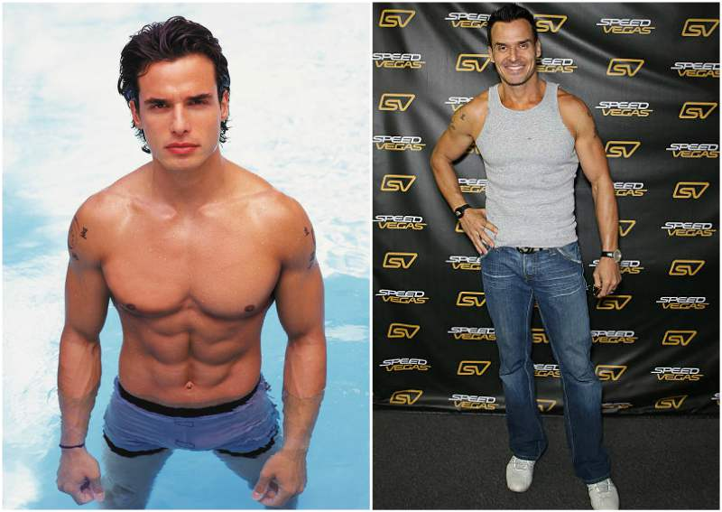 Antonio Sabato Jr height, weight and age