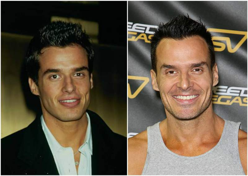 Antonio Sabato Jr eyes and hair color