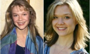 Ariana Richards' eyes and hair color
