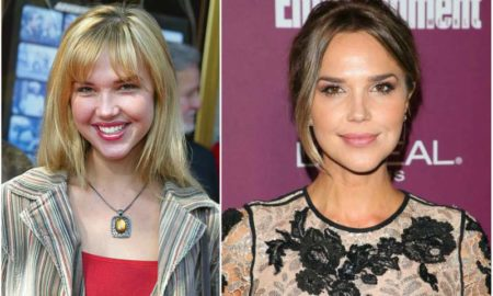 Arielle Kebbel's eyes and hair color
