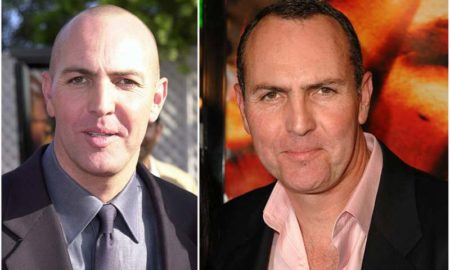 Arnold Vosloo's eyes and hair color