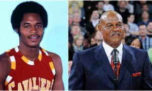Austin Carr's eyes and hair color