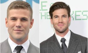 Austin Stowell's eyes and hair color