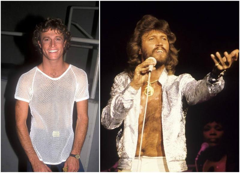 Barry Gibb's height, weight and age