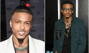 August Alsina's eyes and hair color