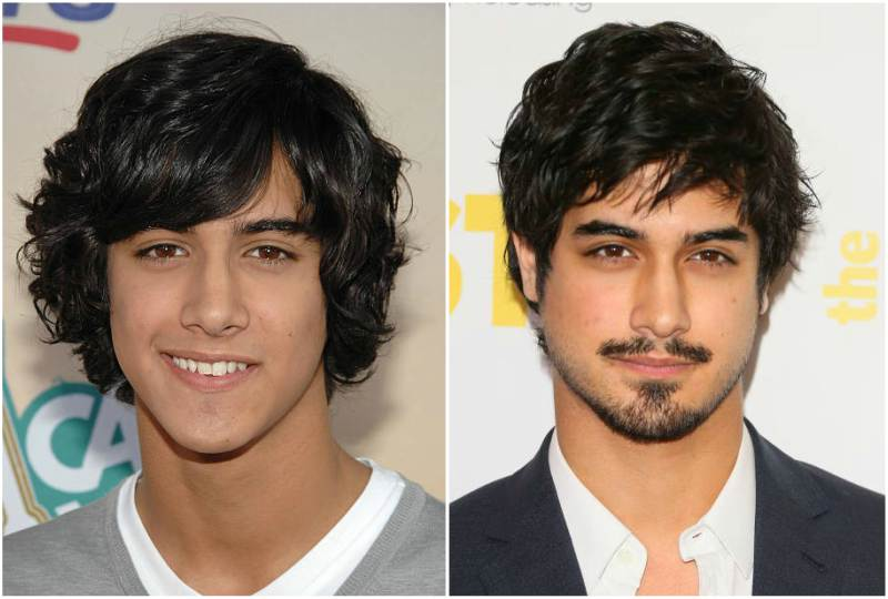 Avan Jogia's eyes and hair color