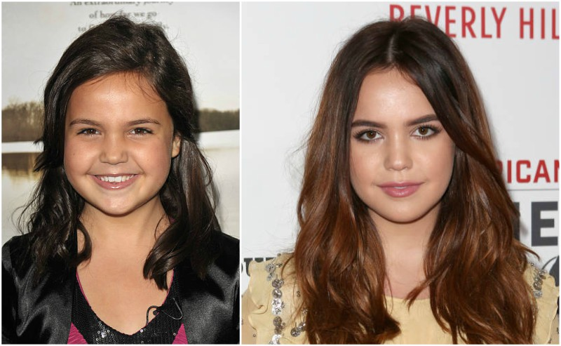 Bailee Madison's eyes and hair color