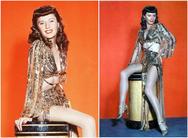 Barbara Stanwyck's height, weight and body measurements