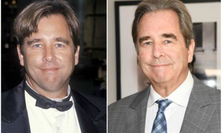 Beau Bridges' eyes and hair color