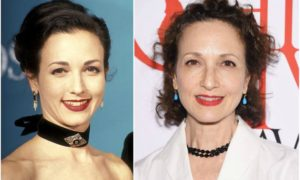 Bebe Neuwirth's eyes and hair color