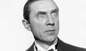Bela Lugosi's eyes and hair color