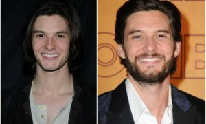 Ben Barnes' eyes and hair color