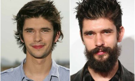 Ben Whishaw's eyes and hair color