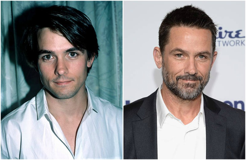 Billy Campbell's eyes and hair color