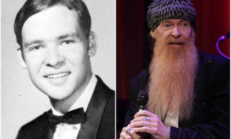 Billy Gibbons' eyes and hair color